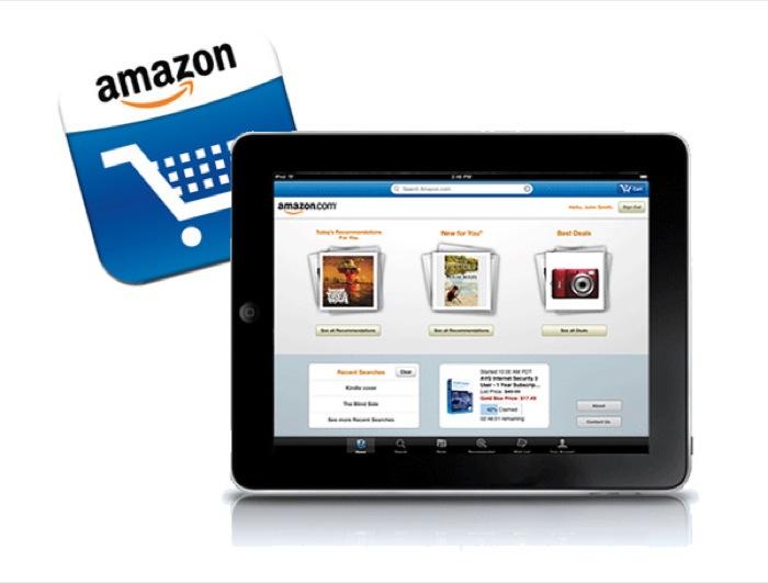 Amazon.it lancia la App per iPad dedicata allo shopping