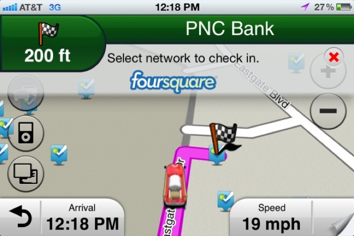 Garmin introduces Foursquare and Glympse Integration for Mobile Navigation Apps