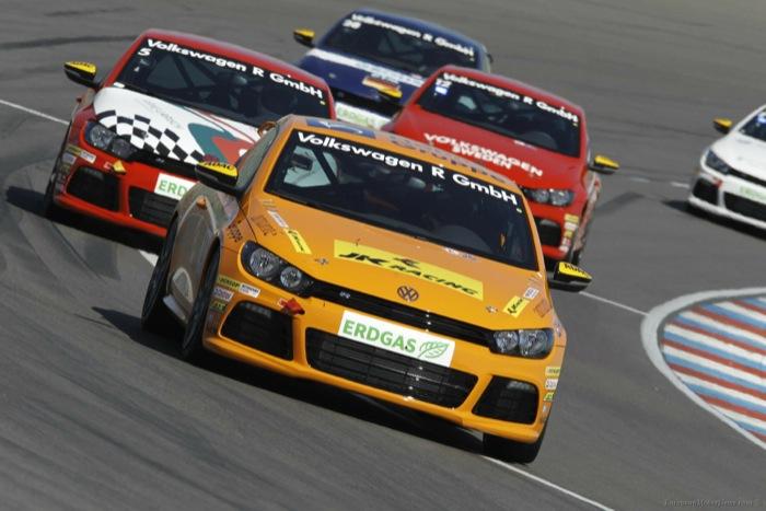 La Scirocco versione racing da competizione con motorizzazione a gas metano