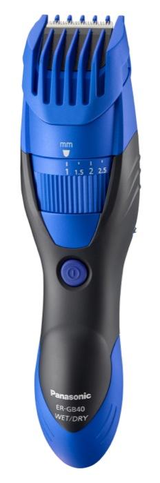 Panasonic presenta due nuovi prodotti della linea Milano Design:  il regolabarba/tagliacapelli ER-GB40  ed il body shaver ER-GK40