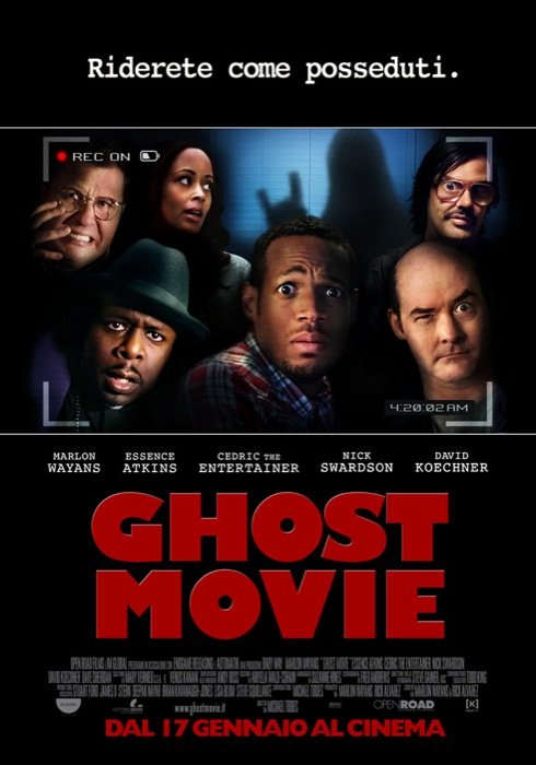 GHOST MOVIE: nuova clip in italiano!