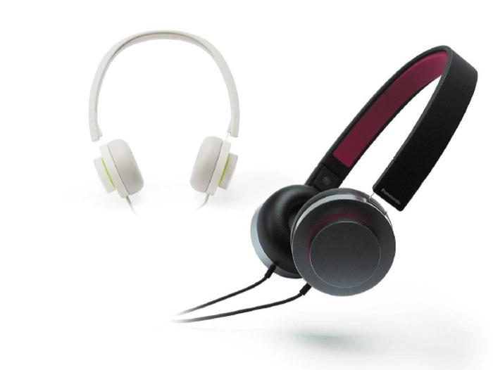 Le nuove eccezionali cuffie HXD Panasonic. L'eleganza del design classico e un suono di qualità superlativa.