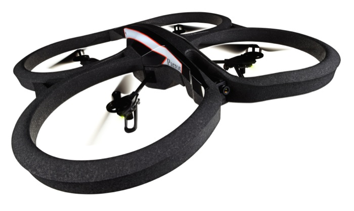 Parrot presenta Parrot AR.Drone 2.0, il nuovo quadricottero disponibile nel 2013