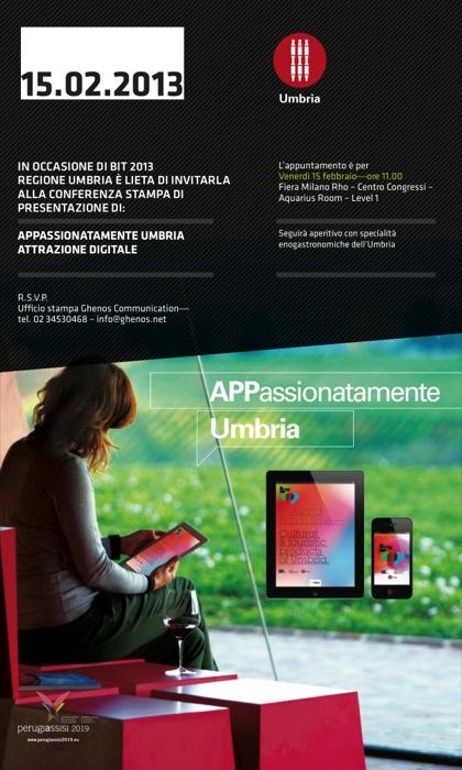 APPassionatamente Umbria – Attrazione digitale