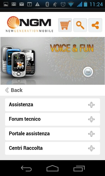 NGM Italia lancia il sito mobile per tutti gli smartphone. Un portale ricco di servizi, tutti a portata di touch!