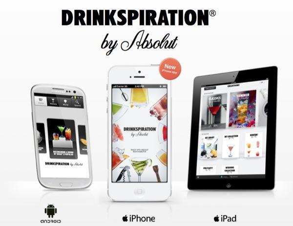 DrinksPIratioN by Absolut: un esperto bartender sempre a portata di mano!