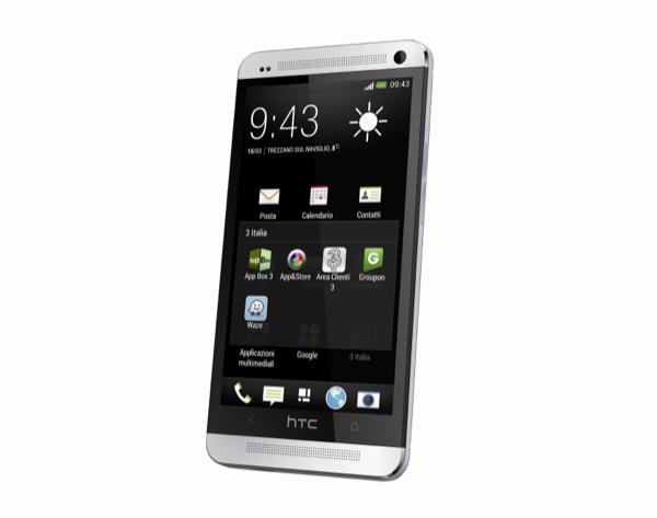 Il nuovo HTC One entra nel listino di 3 Italia