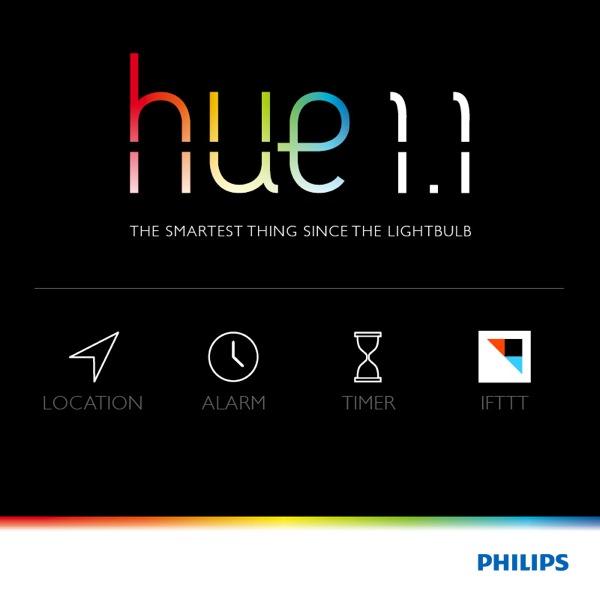 La nuova App Philips Hue si arricchisce di idee brillanti con la geolocalizzazione, il nuovo canale su IFTTT e molte altre nuove funzionalità