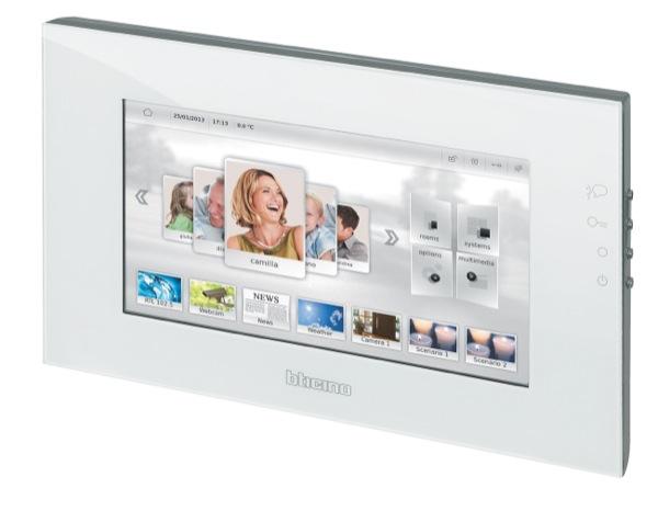 My Home Screen 10, il nuovo display BTicino: semplice, intuitivo e multimediale