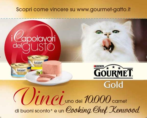 """Concorso """"I capolavori del gusto"""" Gourmet all'insegna delle squisitezze culinarie per i gatti e i loro proprietari"""