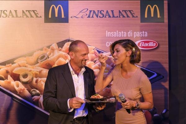 W la pasta! Oltre 18.000 consumatori ospiti a pranzo da McDonald's per provare la nuova insalata di pasta