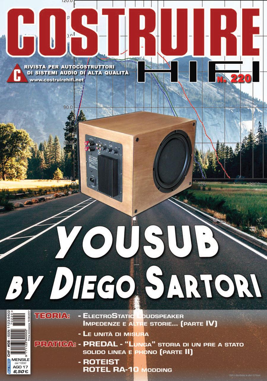 COSTRUIRE HIFI n. 220 – Agosto 2017