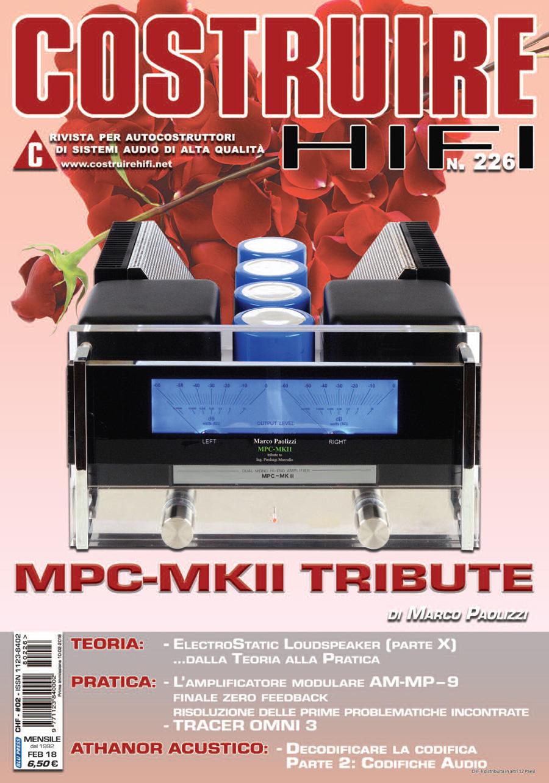 COSTRUIRE HIFI # 226 – Febbraio 2018
