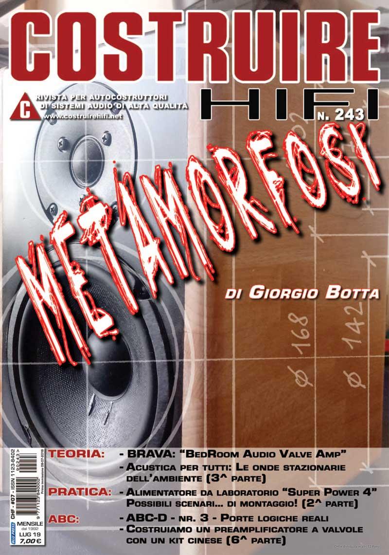 COSTRUIRE HIFI #243 – LUGLIO 2019 – FORUMER AVVISATO, MEZZO SALVATO…