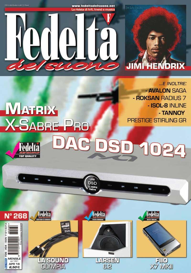 FEDELTA' DEL SUONO #268 – Aprile 2018